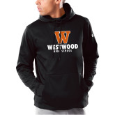 Under Armour Black Armour Fleece Hoodie-W Westwood High School Stacked