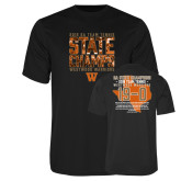 Performance Black Tee-Tennis State Champs 2018