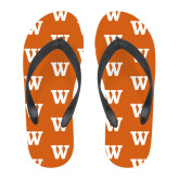 Full Color Flip Flops-W