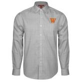 Red House Grey Plaid Long Sleeve Shirt-W