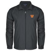 Full Zip Charcoal Wind Jacket-W