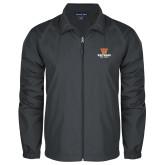Full Zip Charcoal Wind Jacket-W Westwood High School Stacked