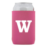 Neoprene Hot Pink Can Holder-W
