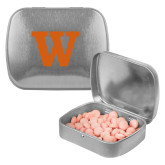 Silver Rectangular Peppermint Tin-W