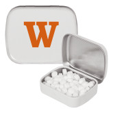 White Rectangular Peppermint Tin-W
