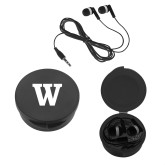 Ear Buds in Black Case-W