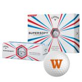Callaway Supersoft Golf Balls 12/pkg-W