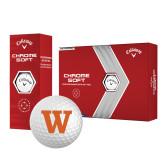 Callaway Chrome Soft Golf Balls 12/pkg-W