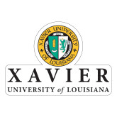 Large Decal-Xavier Seal Vertical, 12 inches tall