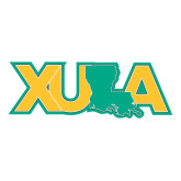 Large Decal-XULA with Louisiana Horizontal, 12 inches wide