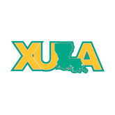 Small Decal-XULA with Louisiana Horizontal, 6 inches wide