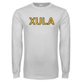 White Long Sleeve T Shirt-XULA