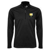 Syntrel Black Interlock 1/4 Zip-Primary Mark