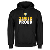 Black Fleece Hoodie-Xavier Proud