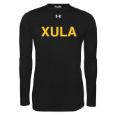 Under Armour Black Long Sleeve Tech Tee-XULA