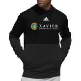 Adidas Black Team Issue Hoodie-Xavier Seal Horizontal