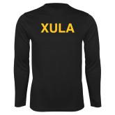 Performance Black Longsleeve Shirt-XULA