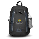 Impulse Black Backpack-Xavier Seal Vertical