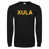 Black Long Sleeve T Shirt-XULA