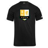 Russell Core Performance Black Tee-Primary Mark