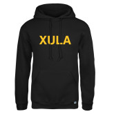 Russell DriPower Black Fleece Hoodie-XULA