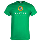 Kelly Green T Shirt-Xavier Seal Vertical