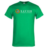 Kelly Green T Shirt-Xavier Seal Horizontal