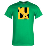 Kelly Green T Shirt-XULA in Square