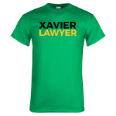 Kelly Green T Shirt-Xavier Lawyer