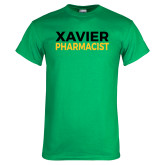 Kelly Green T Shirt-Xavier Pharmacist