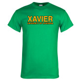 Kelly Green T Shirt-Xavier University of Louisiana