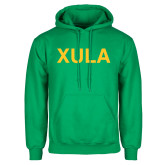 Kelly Green Fleece Hoodie-XULA