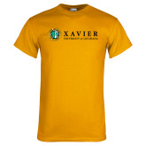 Gold T Shirt-Xavier Seal Horizontal