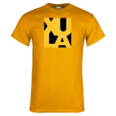 Gold T Shirt-XULA in Square