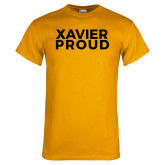 Gold T Shirt-Xavier Proud