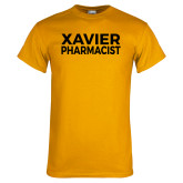 Gold T Shirt-Xavier Pharmacist