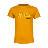 Youth Gold T Shirt-Tennis