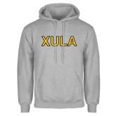Grey Fleece Hoodie-XULA