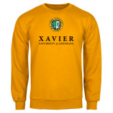 Gold Fleece Crew-Xavier Seal Vertical