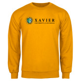 Gold Fleece Crew-Xavier Seal Horizontal