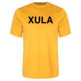 Performance Gold Tee-XULA