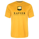 Performance Gold Tee-Stacked Xavier