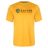 Performance Gold Tee-Xavier Seal Horizontal