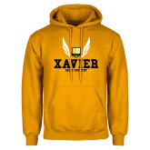 Gold Fleece Hoodie-Cross Country Design