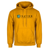 Gold Fleece Hoodie-Xavier Seal Horizontal