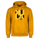 Gold Fleece Hoodie-XULA in Square
