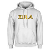 White Fleece Hoodie-XULA