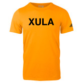 Adidas Gold Logo T Shirt-XULA