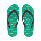 Ladies Full Color Flip Flops-Xavier Seal Vertical