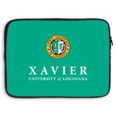 15 inch Neoprene Laptop Sleeve-Xavier Seal Vertical